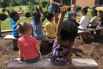 Hands up for garden education!