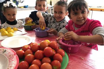 Nourishing Children, Supporting Caregivers in Gaza